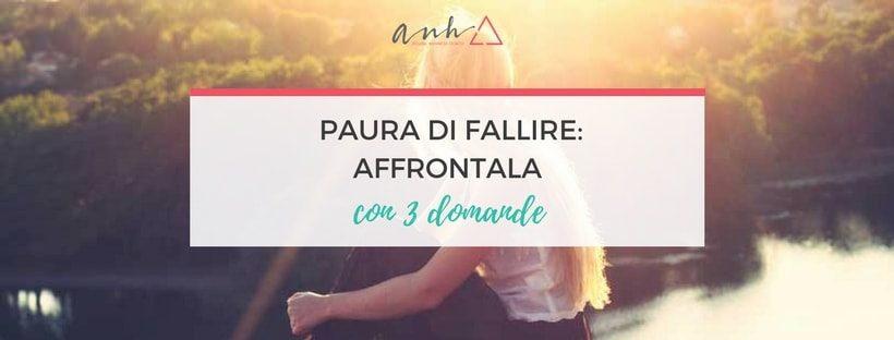paura di fallire