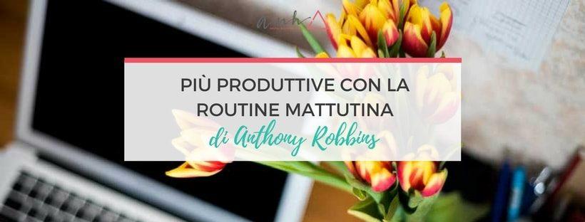 routine mattutina