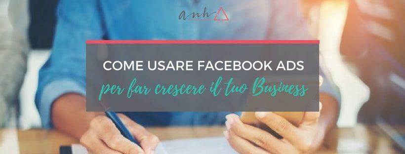 come usare facebook ads