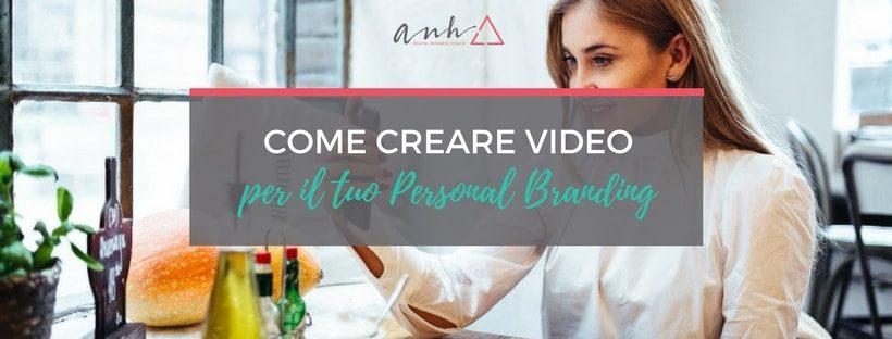creare video